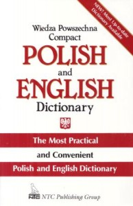 Wiedza Powszechna Compact. Polish and English Dictionary. The Most Practical and Convenient Polish and English Dictionary.
